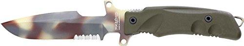 (Ruko FX-P3DC Fox Predator-I Fixed Blade Knife with Plastic Handle)