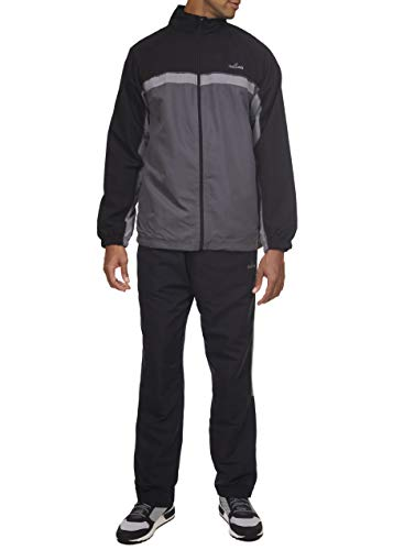 Spalding Pre-Game Hoops Woven Tracksuit Windsuit Black Medium ()