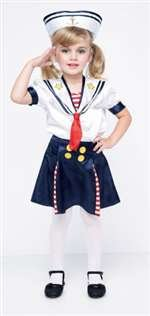 Sailor Girl Toddler Costume - SMALL