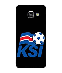 ColorKing Football Iceland 03 اسود shell case cover for Samsung A5 2016