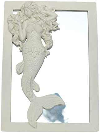 OHIO WHOLESALE, INC. Flowing Hair Mermaid Mirror