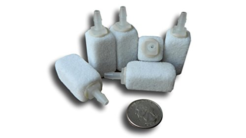 100 Cfm Airline - Aquarium Air Stones / Air Diffusers / Bubble Stones {6 pack}, model# 1112-6; manufactured by Bubblemac Industries, Inc. High-Quality Aeration Products. **MADE LOCALLY, USED GLOBALLY!**