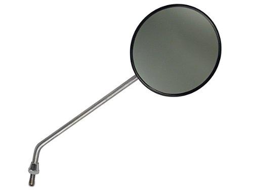 Spiegel (Stab in chrom) Ø120, M8 für Moped