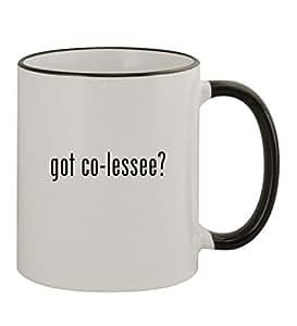 got co-lessee? - 11oz Black Handle Coffee Mug