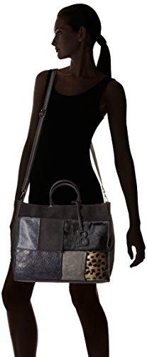 Bulaggi Rustin Satchel - Bolsos maletín Mujer Negro (Schwarz)