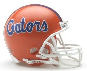 Florida Gators Replica Mini Helmet w/ Z2B (Replica Pro Line Helmet)