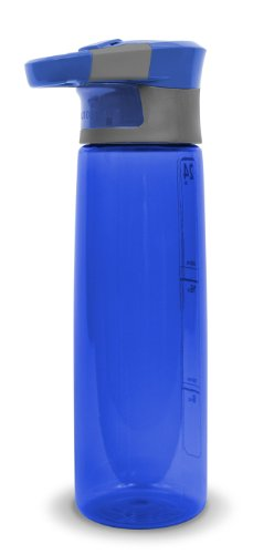 Contigo AUTOSEAL Madison Reusable Water Bottle, 24oz, Blue