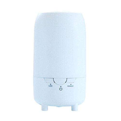 GOUGOU Car Fragrance Machine Essential Oil USB Portable Ultrasonic Clean Air Humidifier 90ML by YANQI