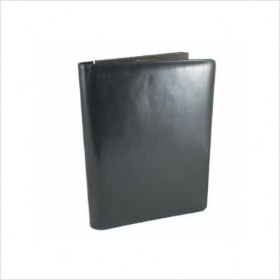 Bosca Old Leather All Leather Pad Cover Portfolio - Black 942-59