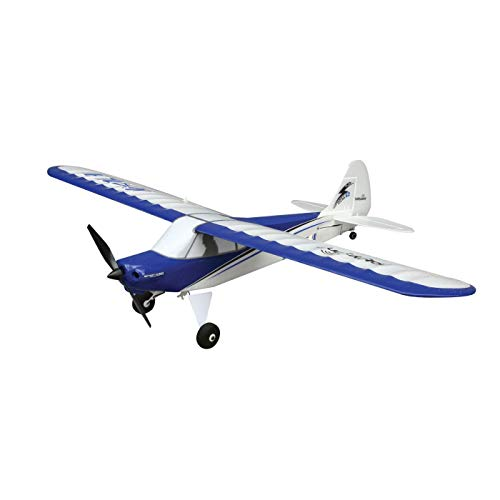 HobbyZone Sport Cub S RC Airplane BNF (Transmitter Not Included) with SAFE Technology | 150mAh 3.7V LiPo Battery | USB Charger, HBZ4480