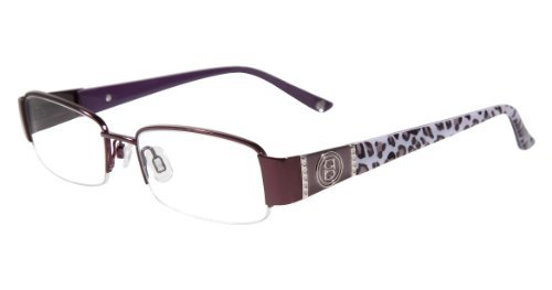 Bebe Eyeglasses Frames - Bebe Fabulous Prescription Eyeglasses - 5046 612 - Ruby (50/17/130)