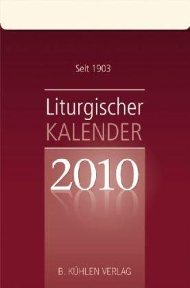 Liturgischer Kalender 2010: Tagesabreißkalender, Block