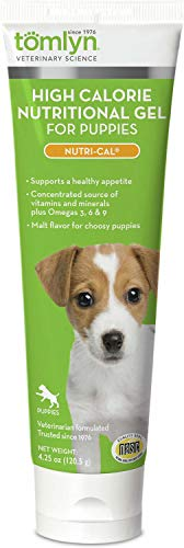 Tomlyn Nutri Cal Puppy - Tomlyn Nutri-Cal High Calorie Nutritional Gel for Puppies 4.25 Ounces (Pack of 12)