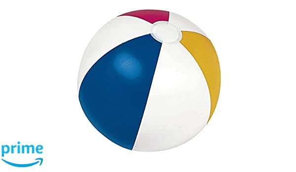 JILONG 66001 - Pelota Playa a Gajos, Colores Surtidos, S: Amazon ...