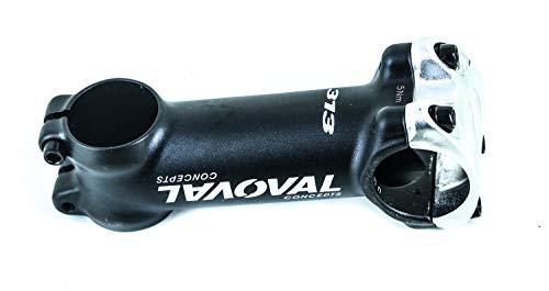 Oval Concepts 313 Threadless Bike Stem 100mm 1-1/8 31.8mm Alloy Blk/Wht/SLV New