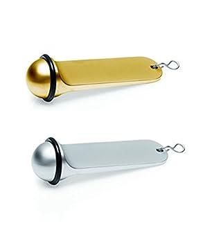 L/änge: 3 cm Schl/üsselanh/änger aus Zinkguss in gold oder silber ohne Gravur mit Gummiring Gewicht: 1,2 kg Gold H/öhe: 11 cm