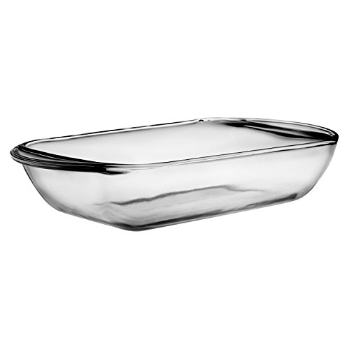 Anchor Hocking Glass 6 x 9 Inch Mini 1 Quart Baking Pan, (Glass Loaf Dish)