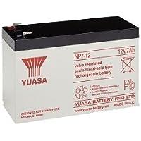 2 x Yuasa NP7-12 bateria de Alarma, Bici electrica, Scooter de 12V, 7Ah