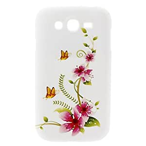 Butterfly and Flower Pattern Hard Case for Samsung Galaxy Grand DUOS I9082