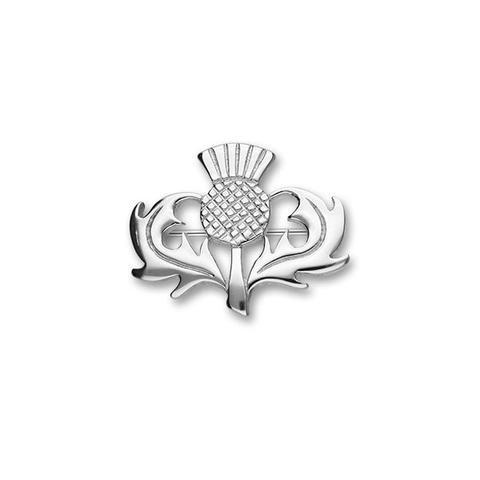 Ortak Thistle Silver Brooch B121