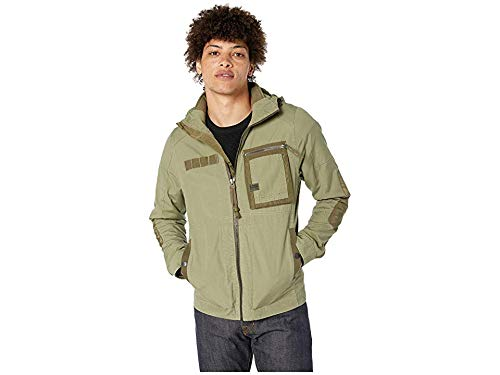 G-Star Men's Grizzer Hooded Overshirt Sage Medium for sale  Delivered anywhere in USA