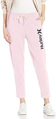 Hurley W O&O Fleece Jogger Pantalón De Chandal, Mujer, Pink Tint ...