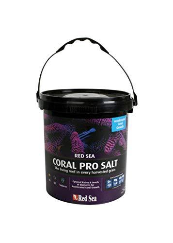 (Red Sea Fish Pharm ARE11220 Coral Pro Marine Salt for Aquarium, 55-Gallon)