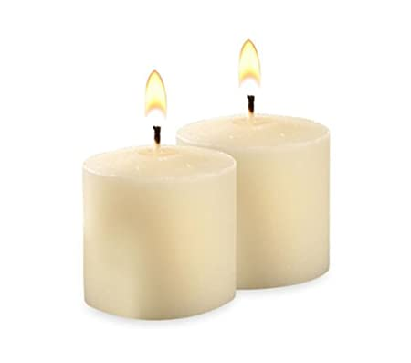 10hr Unscented Ivory Votive Candles -21 per pack Neo-Image Candlelight Ltd