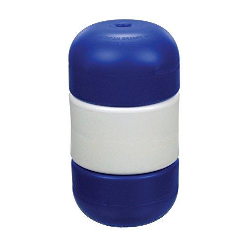American Granby Handi-Lock Float 5 in. x 9 in. Float for 1/2 in. Rope, Blue/White/Blue