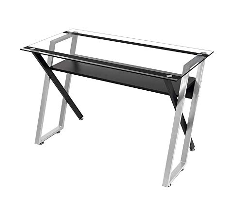Deluxe Premium Collection Designs 50707 Colorado Desk Black/Silver Decor Comfy Living - Bedroom Colorado Furniture