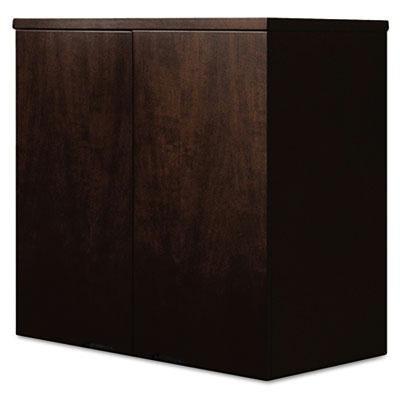 Mayline - Mira Series Wood Veneer Wardrobe Unit 34-1/2W X 24D X 38H Espresso