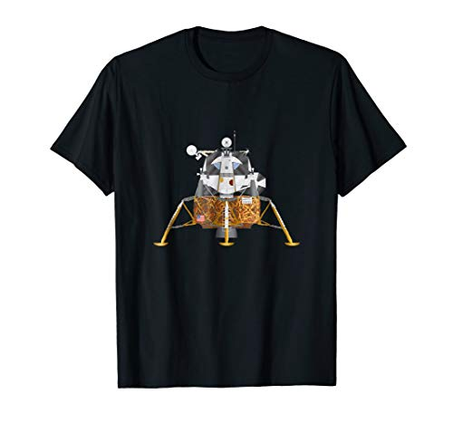Apollo Lunar Module Illustration T-Shirt