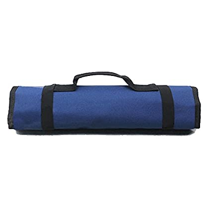 PIXNOR Estuche porta herramientas Enrollable (Azul)