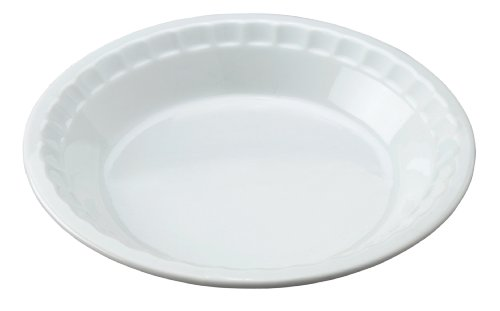- HIC Harold Import Co. 98033 HIC Pie Plate Baking Dish, 10.5-Inch, White