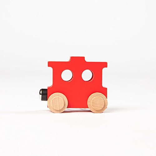 Fat Brain Toys Spell-Your-Name Alphabet Railroad - Caboose Imaginative Play for Ages 3 to 4