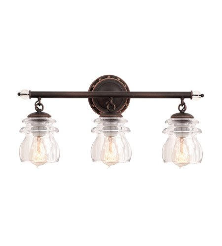 Kalco Lighting 6313AC 3 Light (Classical 3 Light Vanity Fixture)