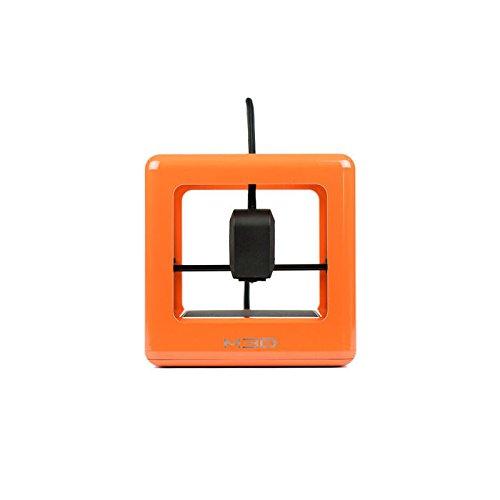 The Micro 3D Printer Bundle - Orange with 4 rolls of PLA filaments, Neutral M3D Printers