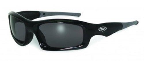 Global Vision Eyewear Sunsation 2 Safety Glasses, Smoke Tint - Sunglass Sunsation