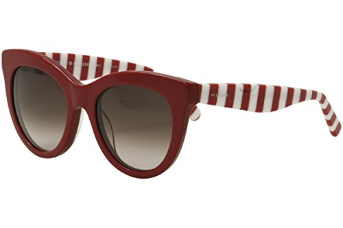 Tommy Hilfiger Women's TH1480S Cateye Sunglasses, Red, 51 ()