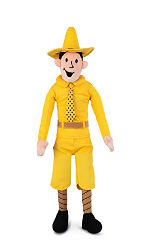 GUND Plush Stuffed Doll, The Man with the Yellow Hat- Curious George Series|15 inches x 4 Inches | Big, Soft, Hugging Toy for Babies, Children, Toddler Boys & Girls| Exclusively Licensed Merchandise -