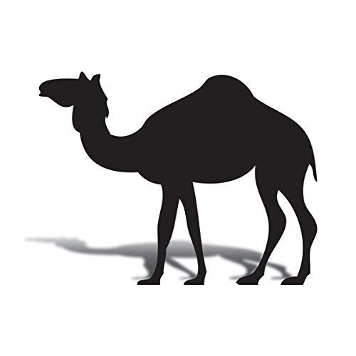 TCDesignerProducts Black Standing Camel Cardboard Life Size Standup Kit