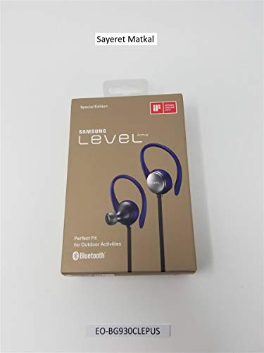 (Samsung Level Active Wireless Bluetooth Fitness Earbuds - Blue (US Version With Warranty))
