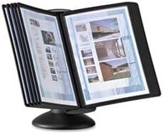 Black Durable Sherpa Motion Desk System 10 Panels