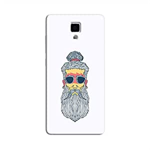 Cover It Up - Hipster Yogi Mi4 Hard Case