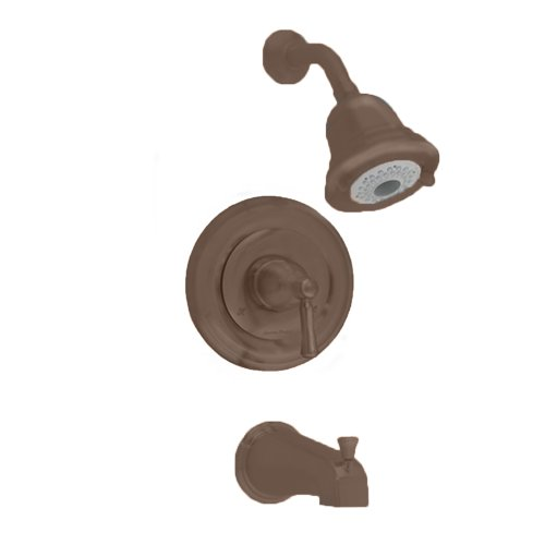 Shower Kit Height (American Standard T420.502.224 Portsmouth Bath and Shower Trim Kit with Round Escutcheon, Oil Rubbed Bronze)