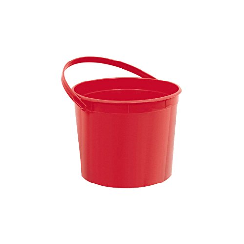Plastic Party Favour Bucket Giveaway, Apple, 6