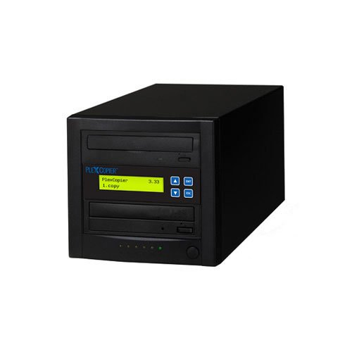 PlexCopier 1 to 1 Blu-ray BD BDXL M-Disc CD DVD Duplicator Copier Tower (1 Target)