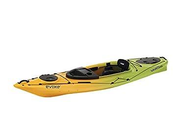 Evoke Navato 100 Sit in Recreational Kayak, Lemon Lime