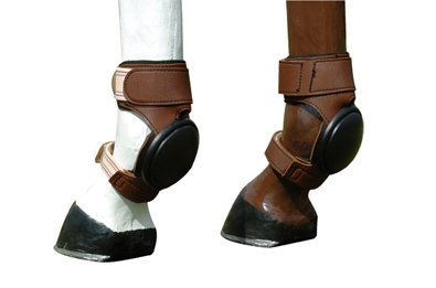FG Collection by Lami-Cell Duraleather Pvc Skid Boots - (Boot Caramel)