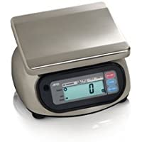 A&D Engineering SK-20KWP Stainless Steel Washdown Scale, NTEP Approved, 20kg Capacity, 0.01kg Increments